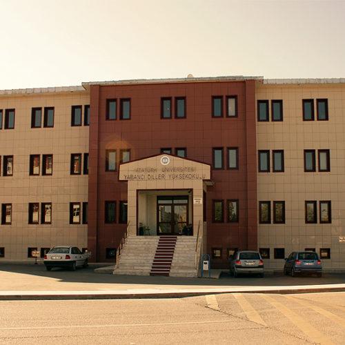 Erzurum Atatürk Üniversitesi Merkezi Derslik ve İdare Binası